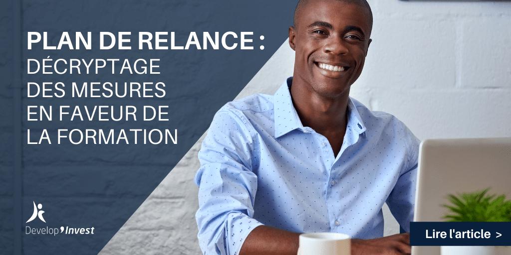 Plan de relance : les mesures en faveur de la formation en entreprise
