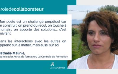 Portrait de collaborateur : Nathalie, spécialiste en achat de formation
