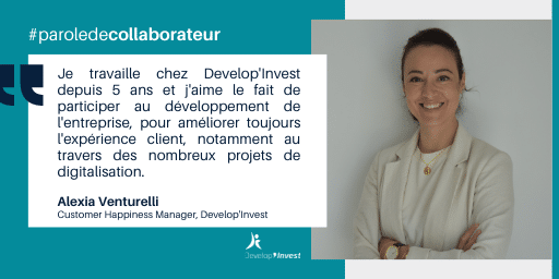 Portrait de collaborateur : Alexia, Customer Happiness Manager