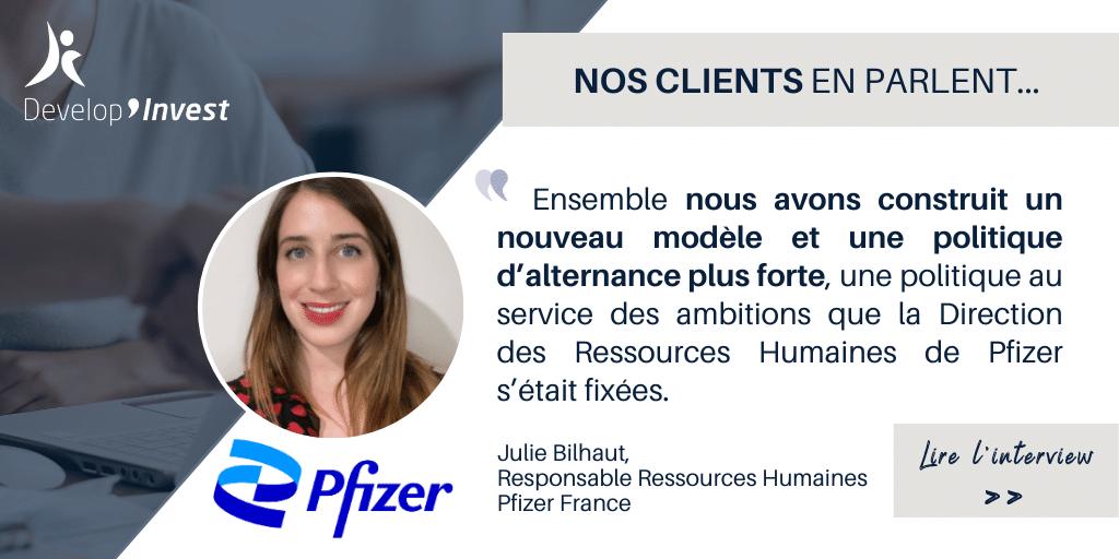 Construire une nouvelle politique d'alternance : Retour d'expérience de Pfizer France avec Julie Bilhaut, RRH